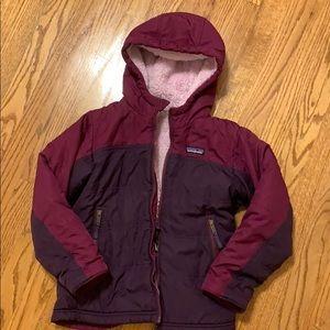 Patagonia, girls size 7-8, reversible jacket, $45